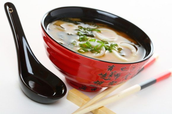 Miso soup with dashi